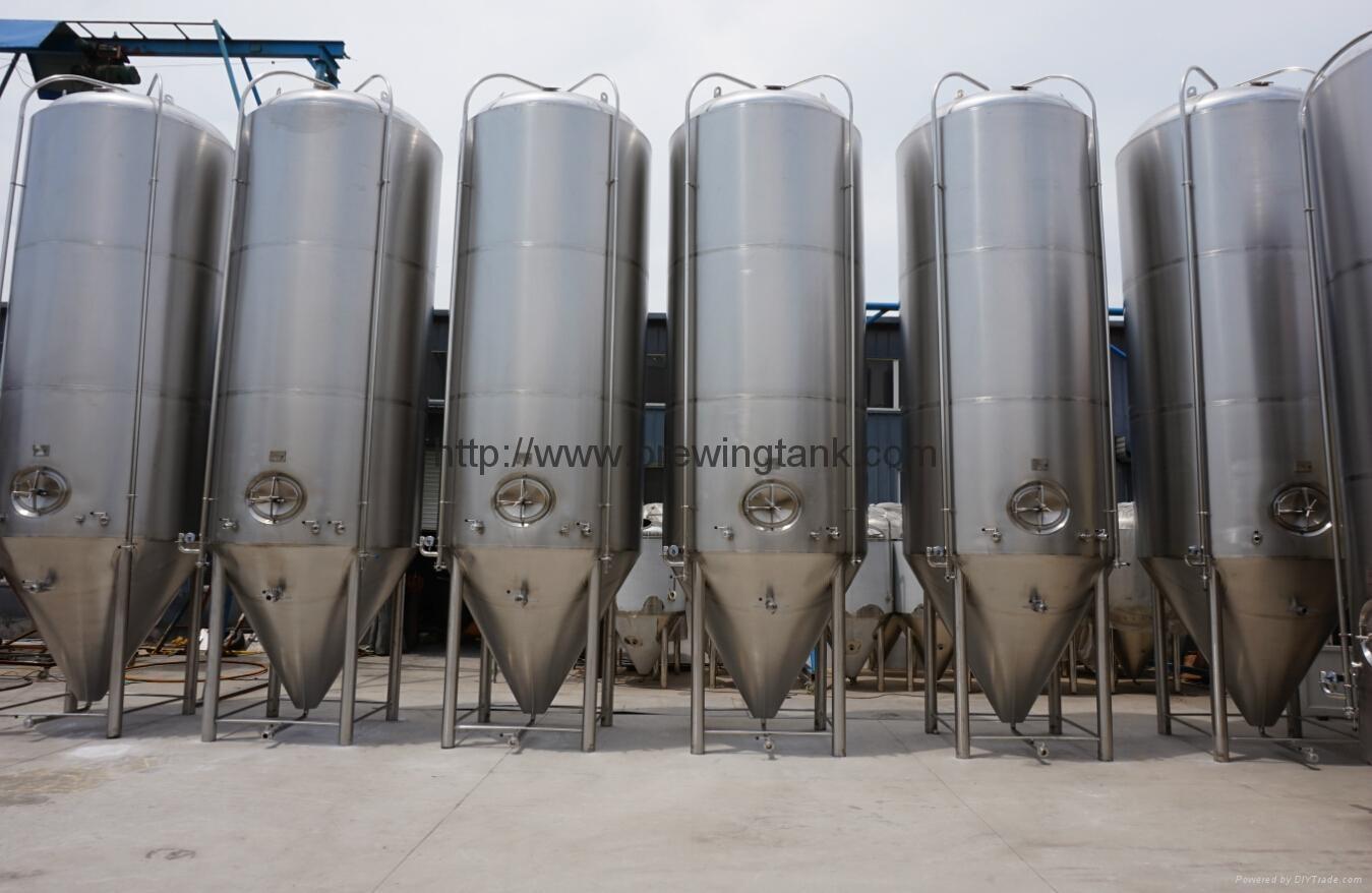 15000L fermentation tank/unitanks, jacketed beer fermenter