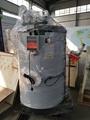Gas fired- steam boiler
