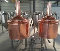 Craft beer equipment 500L per batch, microbrewery brewhouse