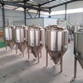 500L conical beer fermenter / stainless