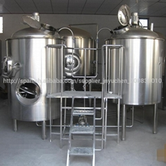 2000liters commercial beer brewery