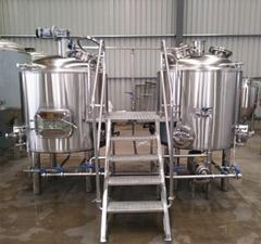 Brew pub equipment