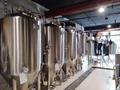 500L Hotel beer brewery equipment, craft beer making machine 4