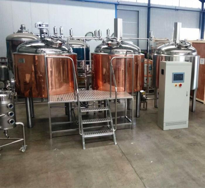 500L Hotel beer brewery equipment, craft beer making machine 2