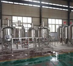 Microbrewery, craft brewing equipment