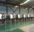 1500L Cooling jackets beer fermenter/fermentation beer tank