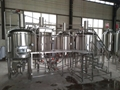 Microbrewery, craft brewing equipment 5bbl brewing tank