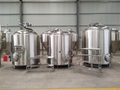 Gas fired 6bbl brewing system, beer