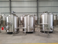 Gas fired 6bbl brewing system, beer brewery equipment (Hot Product - 1*)