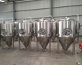 Gas fired 6bbl brewing system, beer brewery equipment