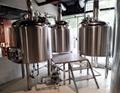 1000L complete beer brewing system, brewpub