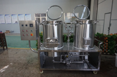 Homebrewery, test Beer Brewing Equipment 100L