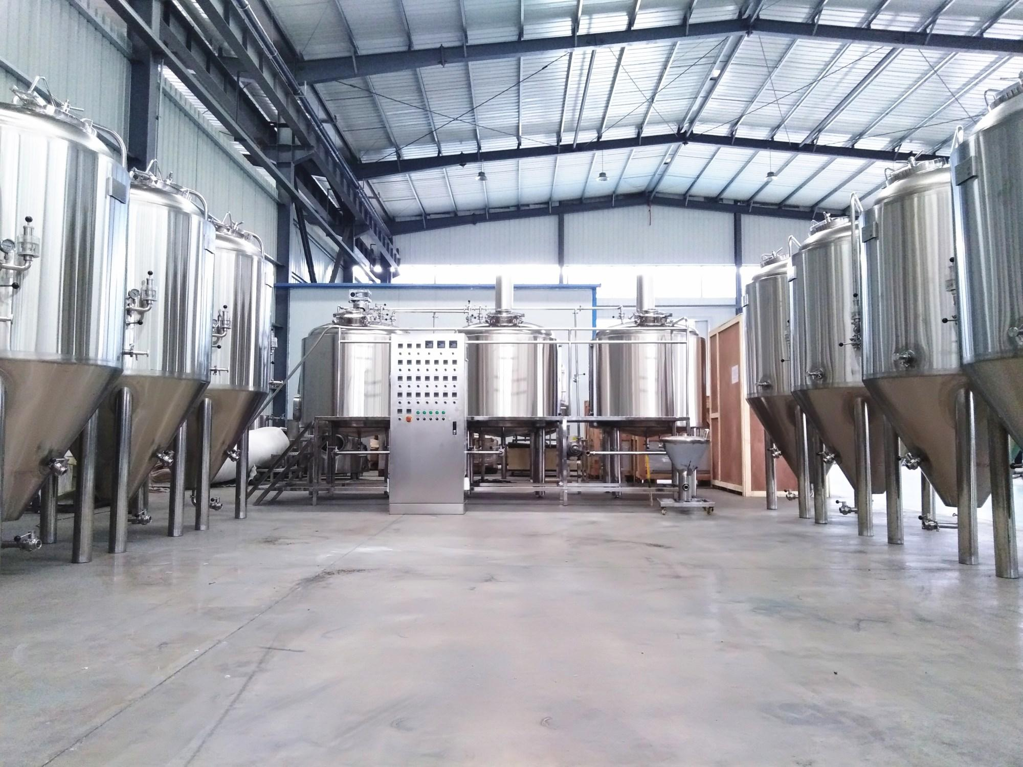 10bbl Industrial beer brewery equipment/turnkey brewing plant 2