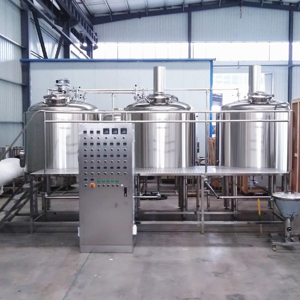 10bbl Industrial beer brewery equipment/turnkey brewing plant 1