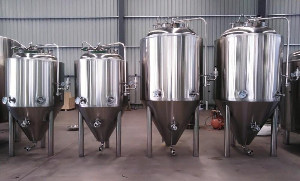 10bbl Industrial beer brewery equipment/turnkey brewing plant 5