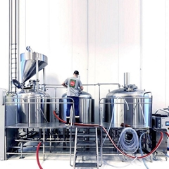 1500L Turnkey Brewery System Beer Brewing Production Line