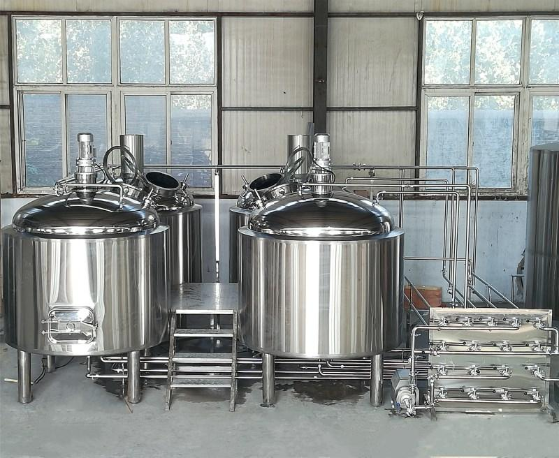 2000L Factory turnkey craft brewery / beer brewing fermentation equipment
