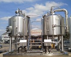 Beer equipment, brewery