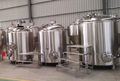 6bbl Gas fired brewery system, beer brewing equipment
