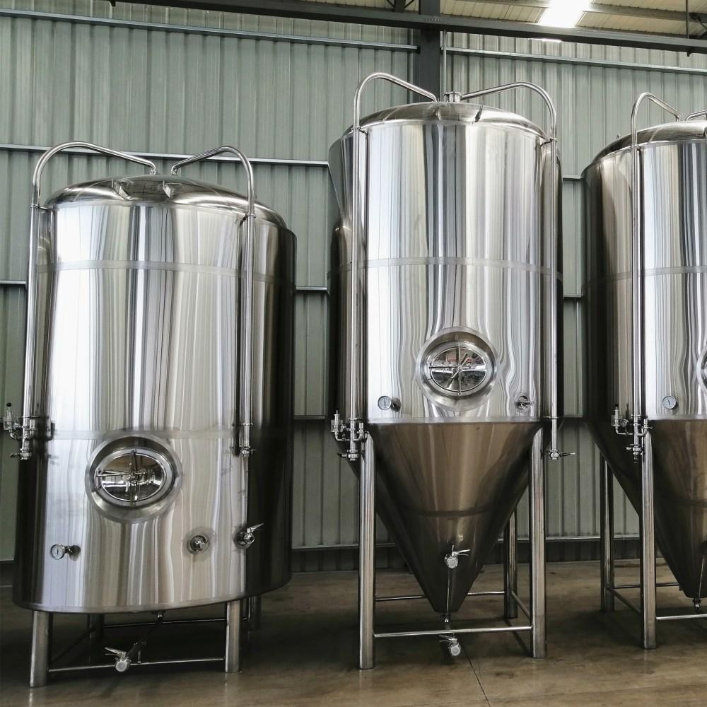 Bright beer tank, beer storage tank, beer aging/maturing tank