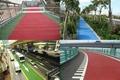 青島彩色防滑警示馬路 5