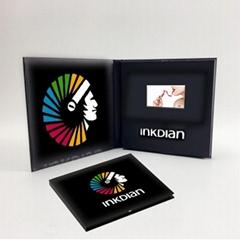 廠家定製5英吋商務視頻卡片電子宣傳冊