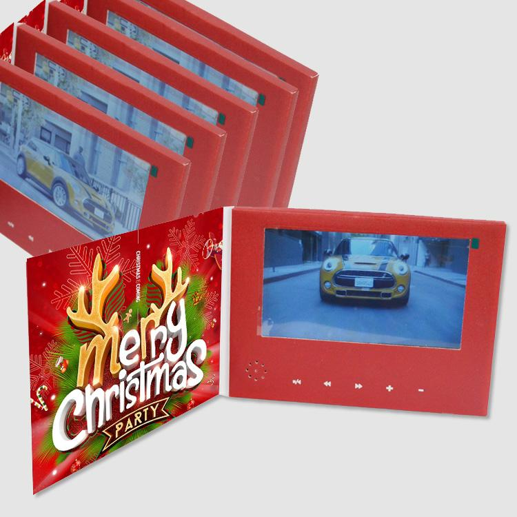 厂家定制5英寸商务视频卡片电子宣传册 4