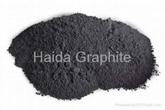 Medium carbon graphite