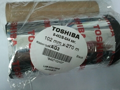 天津混合碳帶東芝AG3條碼碳帶