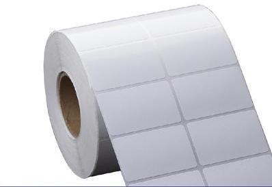 天津可移合成热敏标签纸防水防油防刮撕不烂无需碳带直接打印 1