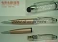 施华洛世奇元素电容水晶U盘笔