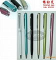 Top crystal pen