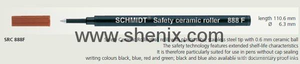 SCHMIDT Safety ceramic roller 888F 2