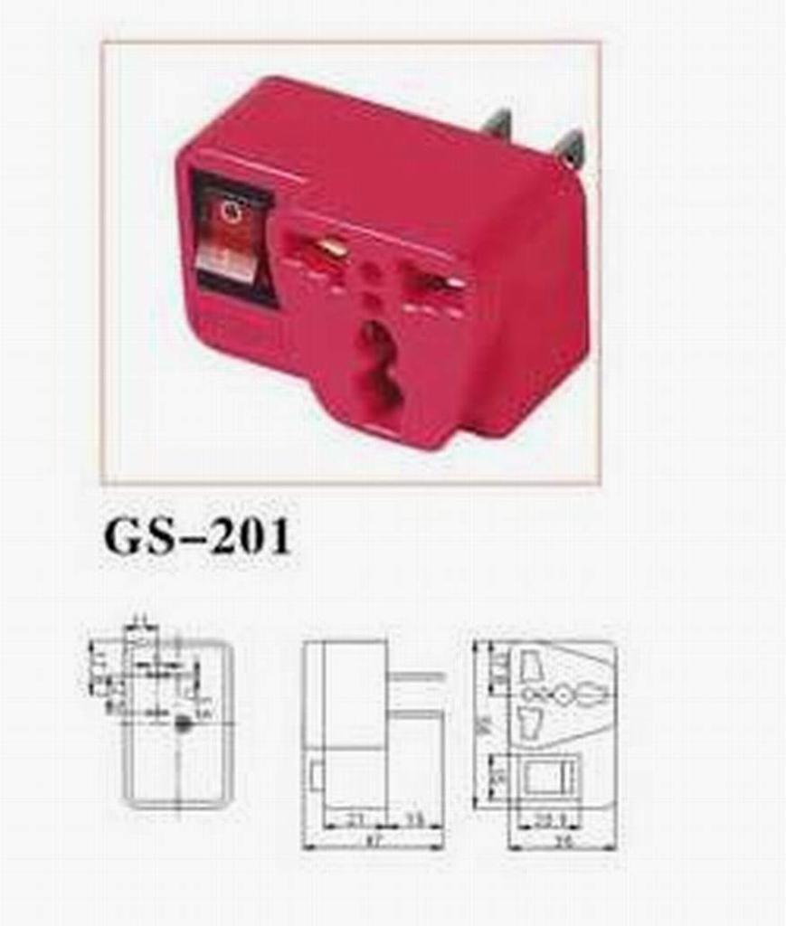 GS-201 通用轉換插頭 1