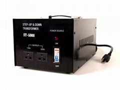A.C STEP-UP & DOWN TRANSFORMER (ST-5000)