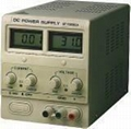 SINGLE OUTPUT ADJUSTABLE D.C POWER SUPPLY