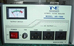 A.C VOLTAGE REGULATOR  AR-1500