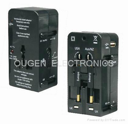 QZ08A 全球通轉換插座 1