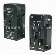 QZ08A 全球通转换插座
