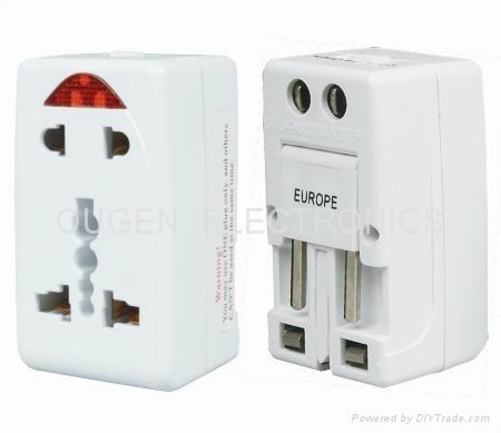 OU01 多功能转换插头 转换器 1