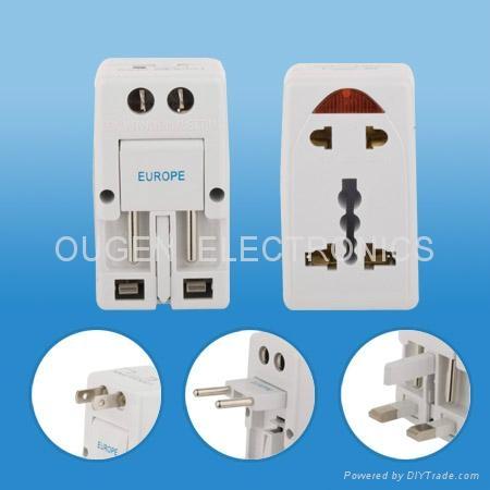 OU01 多功能转换插头 转换器 3