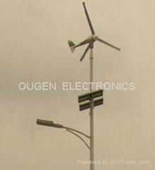 風能和太陽能路燈
