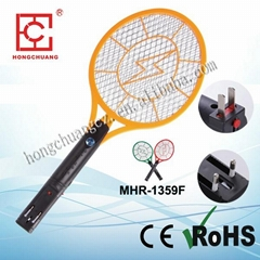 Mosquito Hitting Racket (with flat-pin plug or round plug)