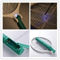 AA batteries operated Mosquito Hitting Racket can be fold 3