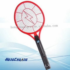Mosquito Hitting Racket (with round-pin plug)