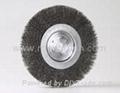 wheel brush steel wire 8-inch