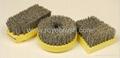 abrasive nylon disc brush