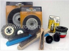 industrial brushes kit