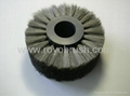 stainless steel circular wire brush