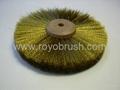 3 Row Brass Wheel brush